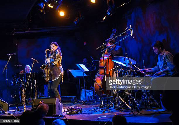 Israeli musician Anat Cohen on tenor saxophone leads her Quartet with Jason Lindner on piano Vicente Archer on upright acoustic bass and Daniel...