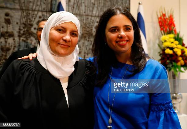 Israeli Muslim Hana Khatib the first woman in Israel to be appointed by an Israeli justice committee to become a religious judge or qadi in the...