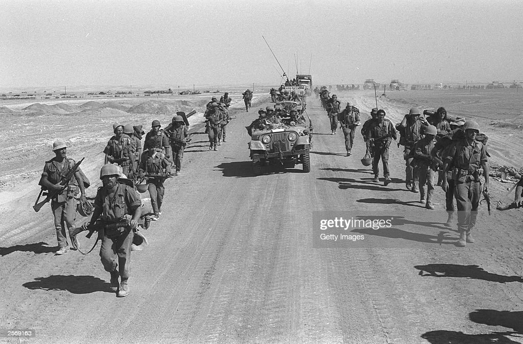 Israel marks 30th anniversary of the 1973 Yom Kippur War : News Photo