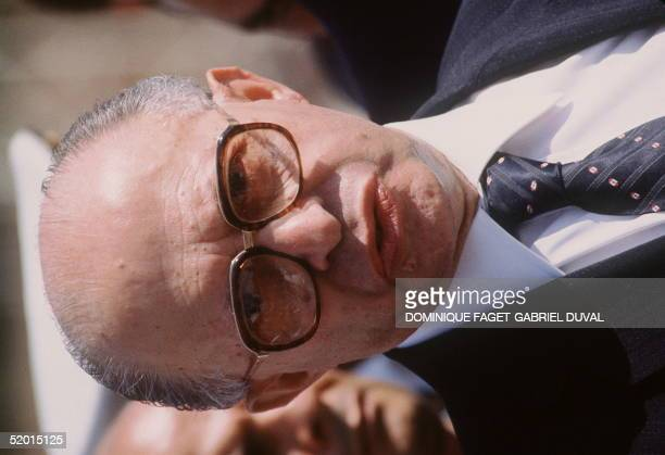 Israeli Premier Menahem Begin attends the funeral of Egyptian President Anwar alSadat 10 October 1981 in Cairo A group of Islamic fundamentalists...