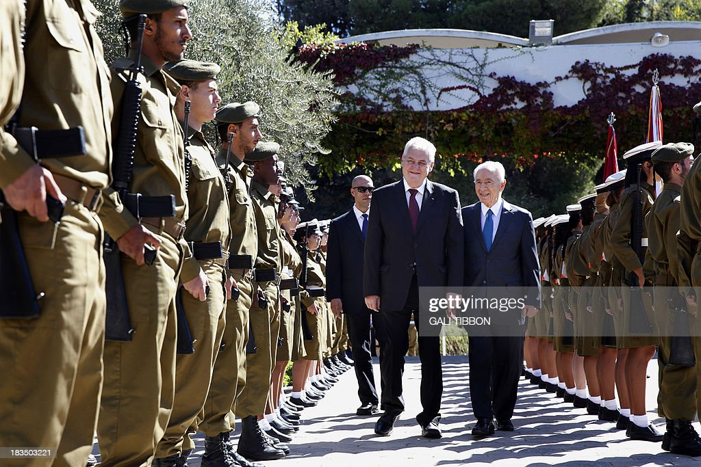 ISRAEL-CZECH-DIPLOMACY : News Photo