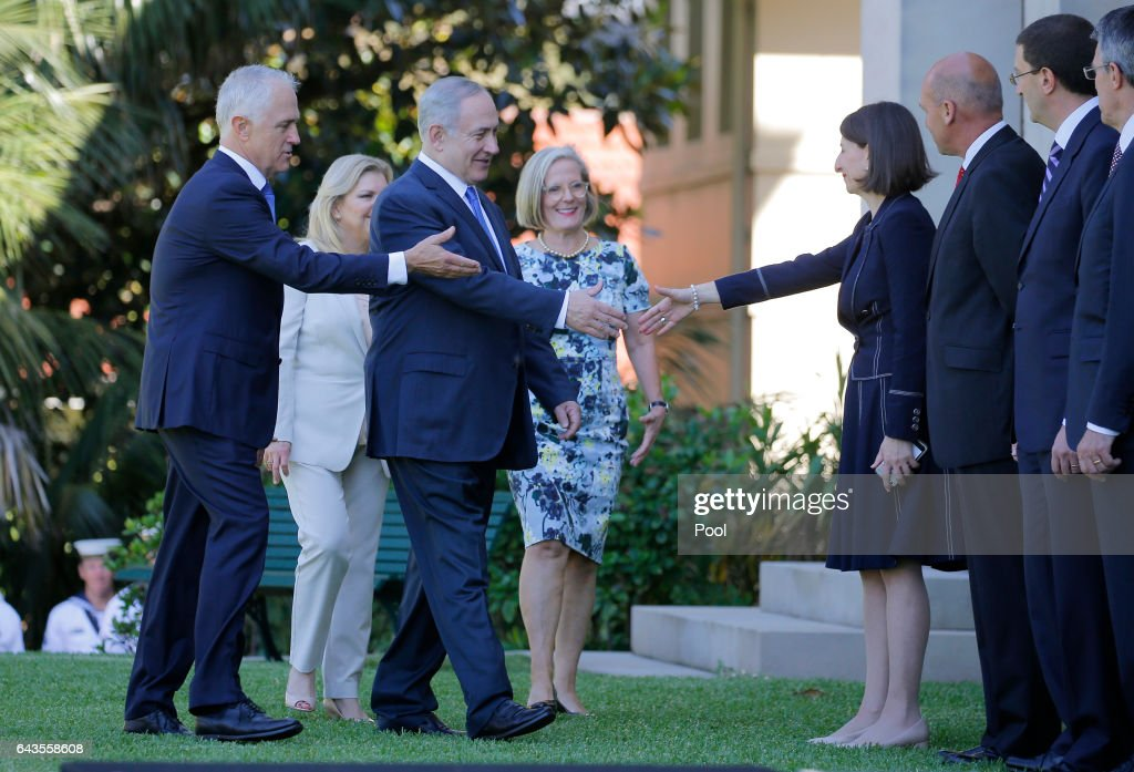 Israeli Prime Minister Benjamin Netanyahu Visits Sydney - Day 1