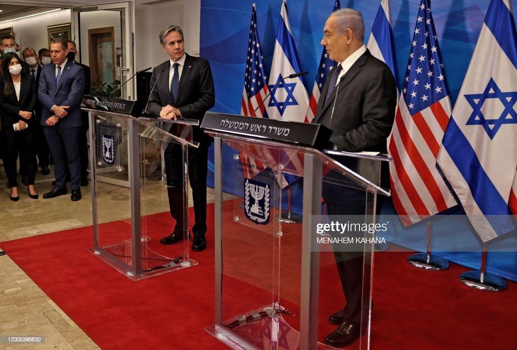 ISRAEL-US-DIPLOMACY-PALESTINIAN-CONFLICT : Nieuwsfoto's