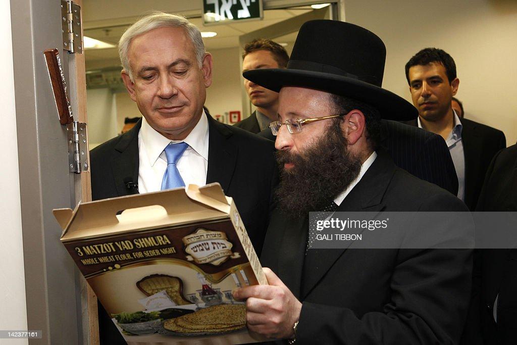 Israeli Prime Minister Benjamin Netanyah : News Photo