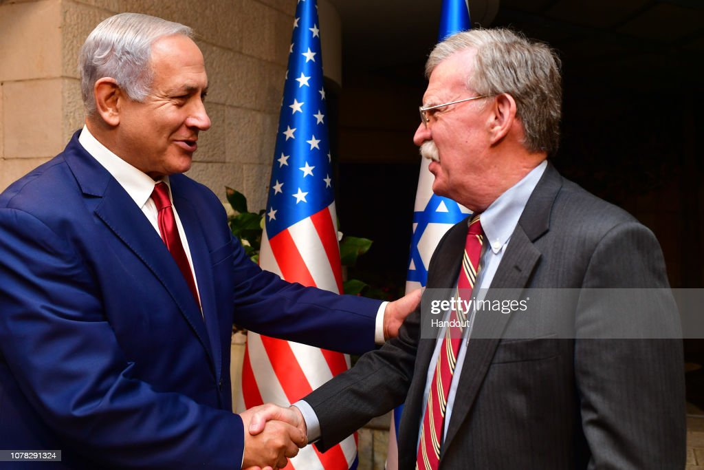 White House National Security Adviser John Bolton Visits Israel : News Photo