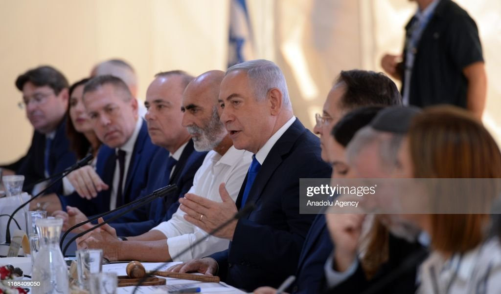 Israeli PM reiterates pledge to annex Jordan valley : Nieuwsfoto's