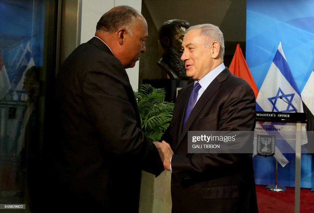 ISRAEL-EGYPT-DIPLOMACY : News Photo