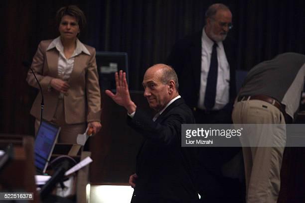 Israeli Prime Minister Ehud Olmert is seen during a Knesset session, Israeli Parliament on May 19, 2008 in Jerusalem, Israel.