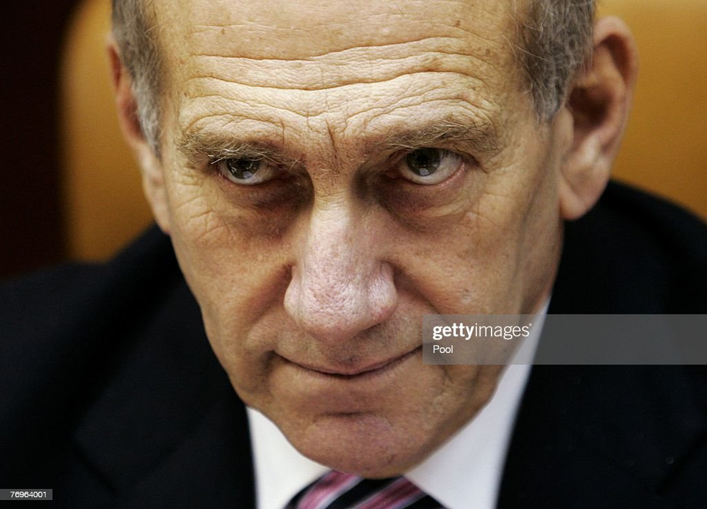 Pm Olmert Convenes Weekly Cabinet Meeting Photos And Images Getty
