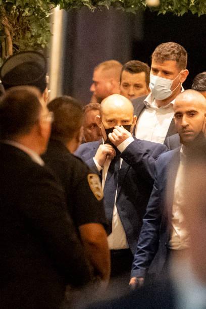 NY: Israeli Prime Minister Bennett In New York City For UNGA