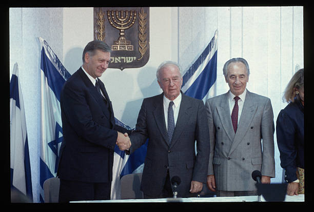 World Leaders At Signing Of Middle East Peace Accord Pictures