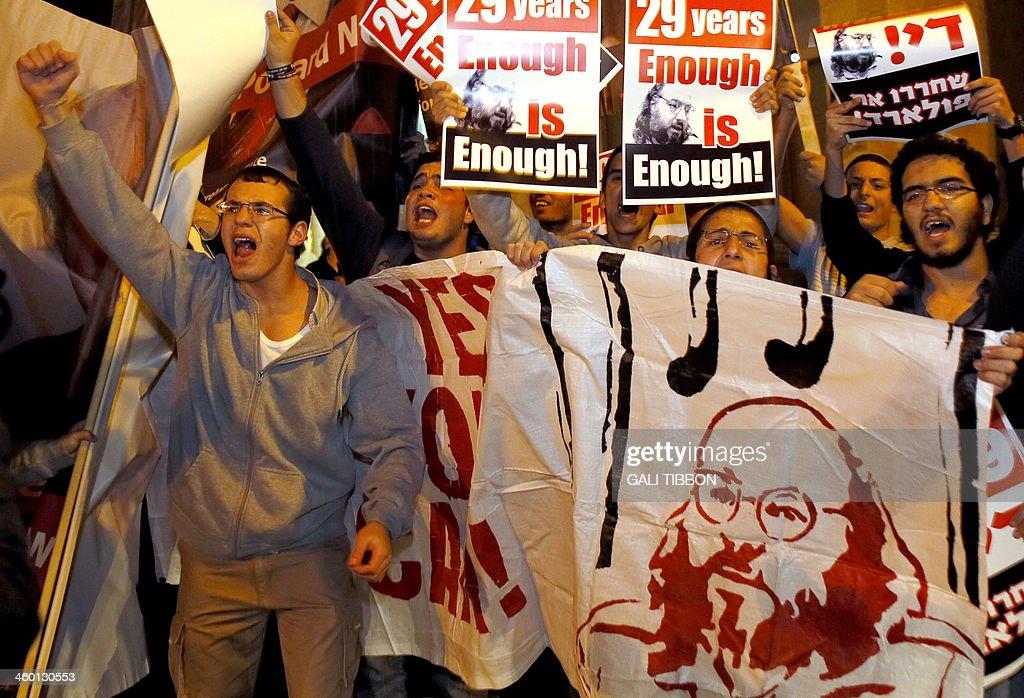 ISRAEL-US-DIPLOMACY-ESPIONAGE-POLLARD-KERRY : News Photo