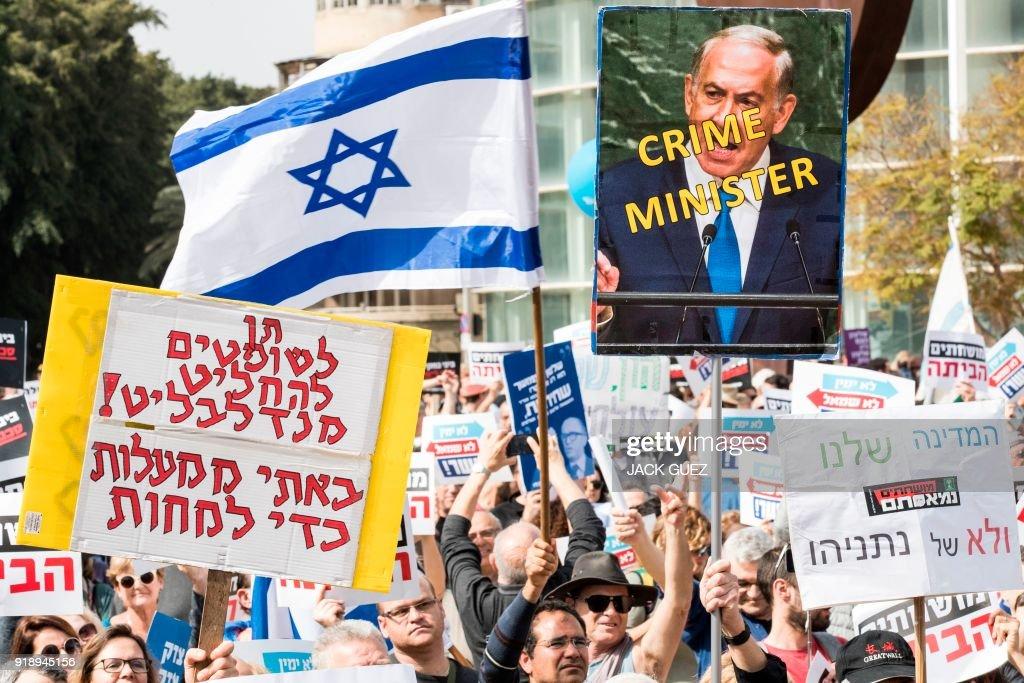 ISRAEL-POLITICS-NETANYAHU : Nachrichtenfoto