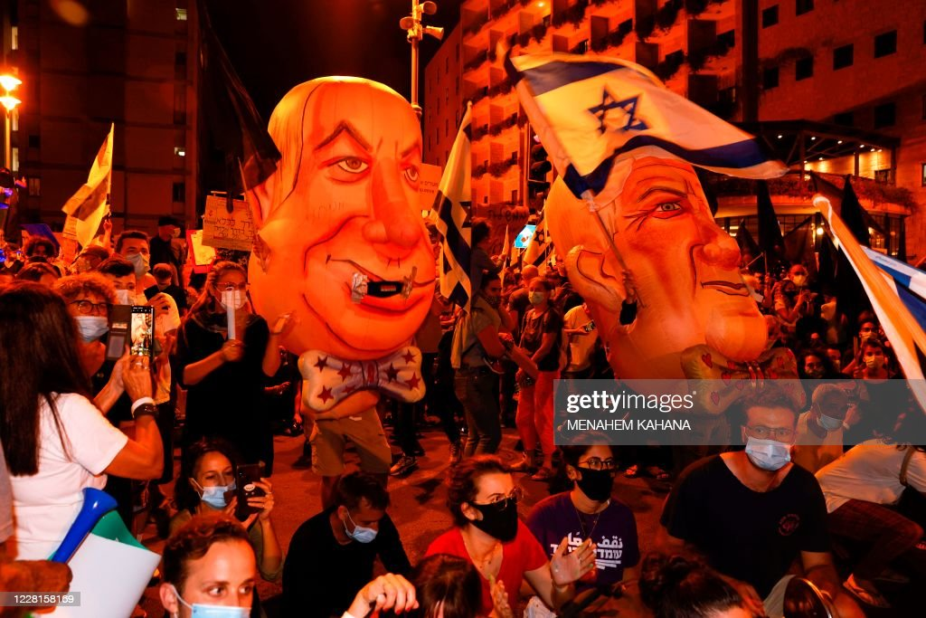 ISRAEL-POLITICS-DEMO : News Photo