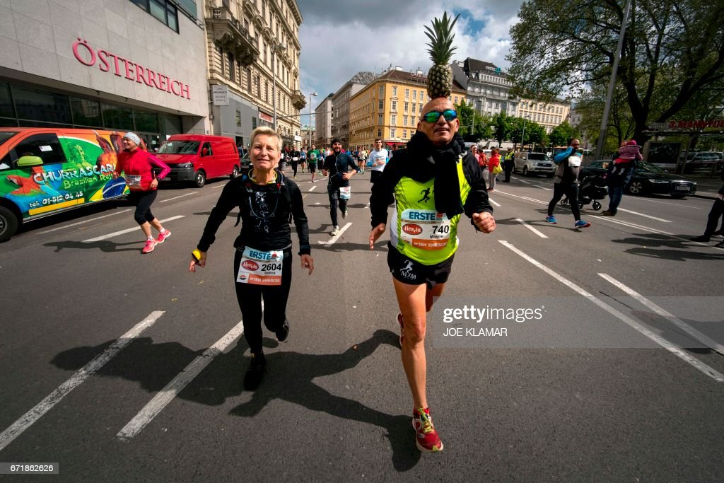MARATHON-AUSTRIA-VIENNA : News Photo