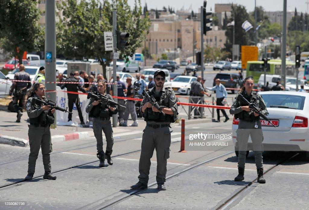 PALESTINIAN-ISRAEL-CONFLICT : Nachrichtenfoto