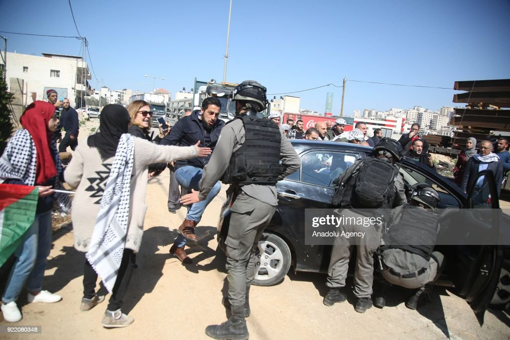 Tension rises in West Bank : News Photo