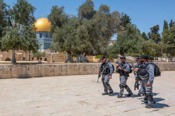 Israeli Security Forces, Jerusalem, Israel