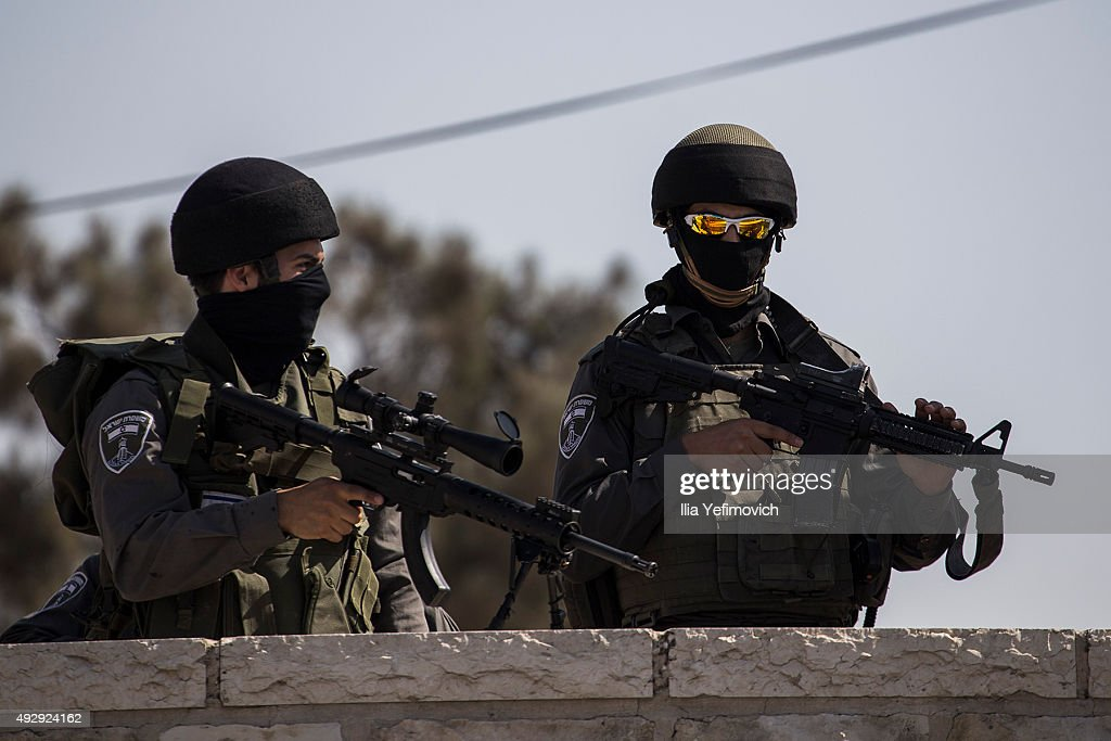 Security On High Alert As Fresh Clashes Add To Tension In Israel : News Photo