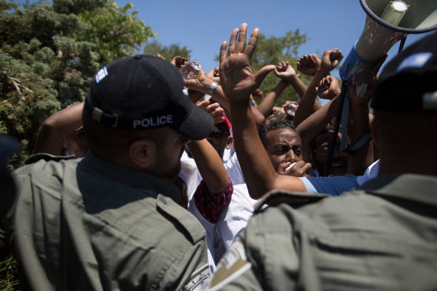 ISR: Israeli Ethiopians Protest At The Knesset