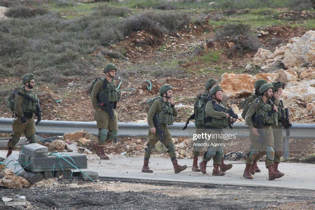 2 Israelis killed in West Bank shooting : Nachrichtenfoto