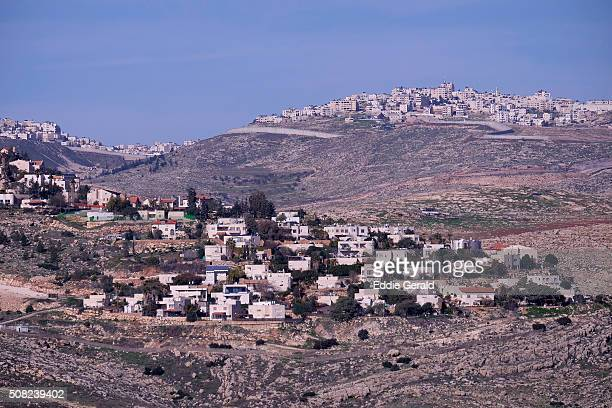 israeli settlements in the west bank - 国際法 ストックフォトと画像
