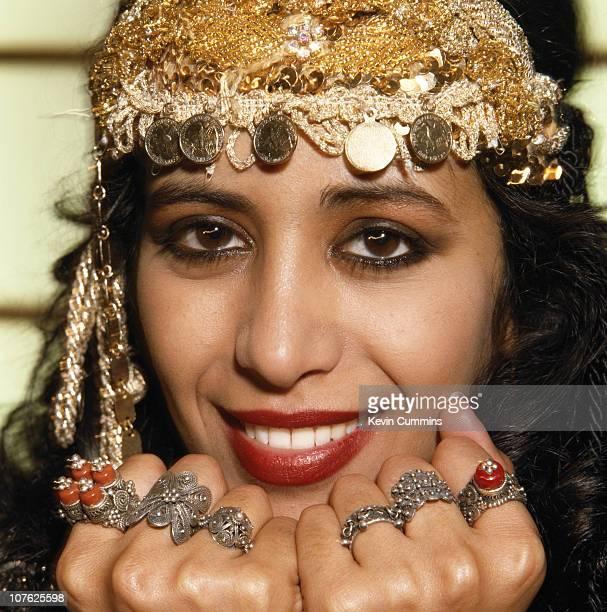 Israeli singer Ofra Haza circa 1990