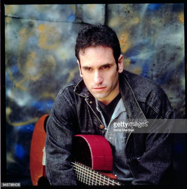Israeli singersongwriter David Broza is photographed for November Records in 1993 in New York City