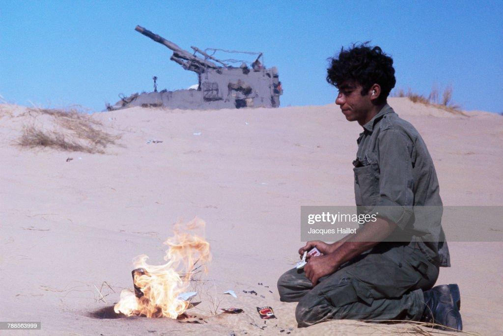 Yom Kippur War : News Photo