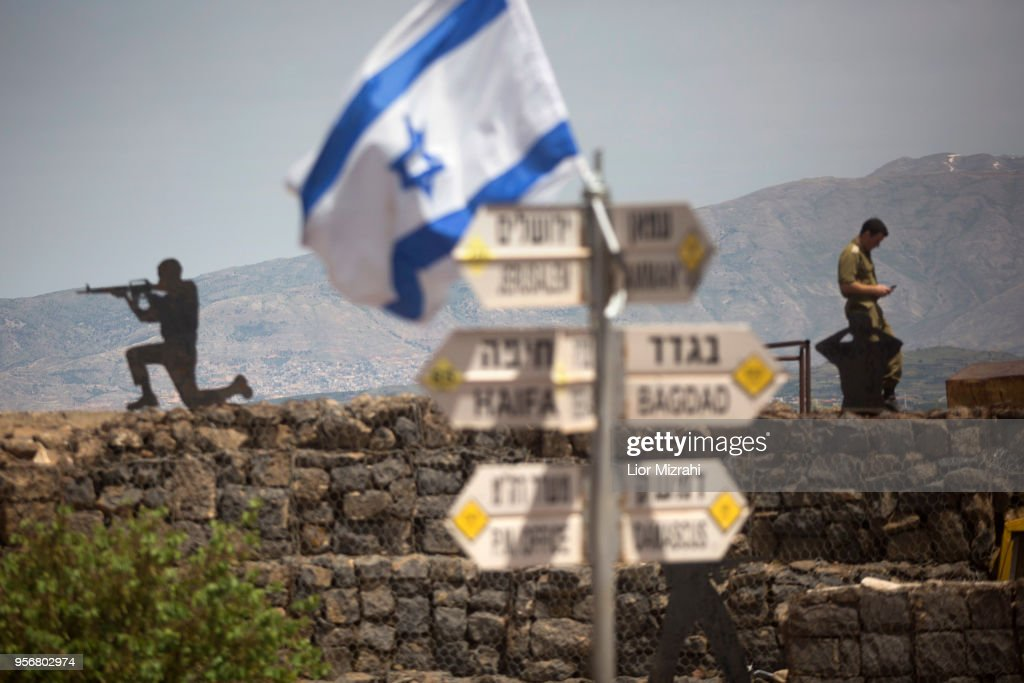 Israel Fortifies Defenses In  Golan Heights After US Abandons Iran Nuclear Deal : News Photo