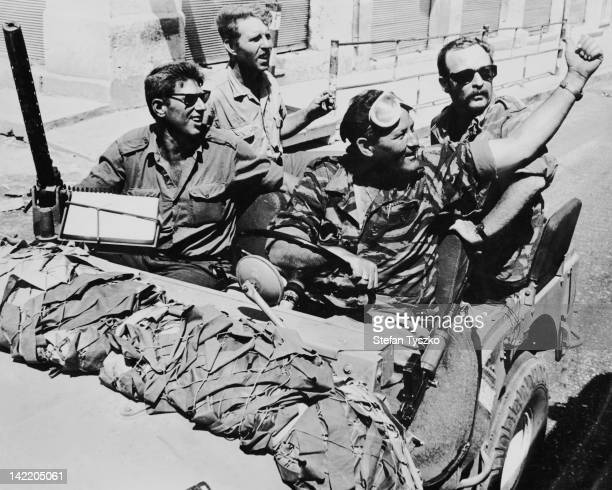 Israeli soldiers in Gaza during the SixDay War June 1967