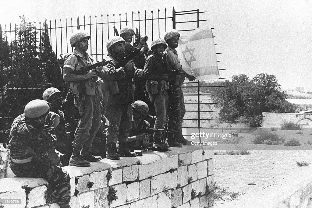 Israeli Victory in June 1967 Mideast War : News Photo