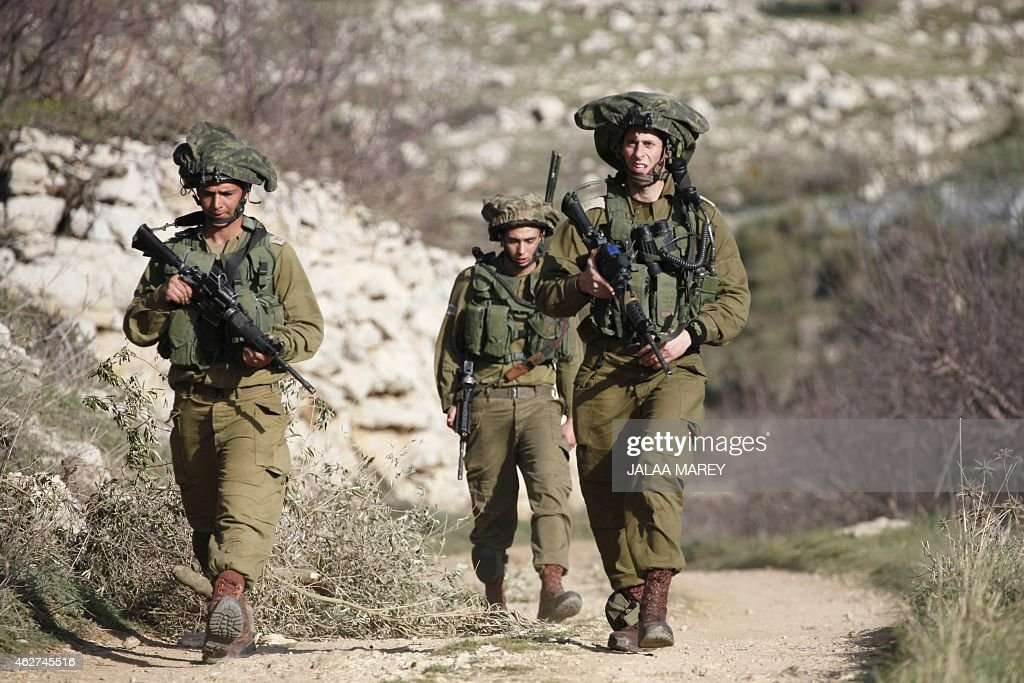 ISRAEL-SYRIA-BORDER-EXPLOSION : News Photo