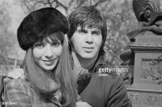 Israeli wife and husband duo Esther and Abi Ofarim in London UK 27th February 1968