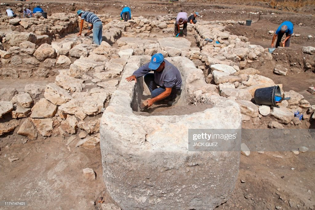 ISRAEL-HISTORY-ARCHAEOLOGY : News Photo