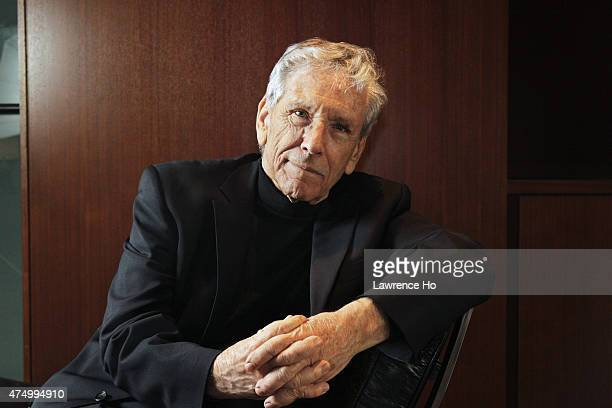 Israeli writer Amos Oz is photographed for Los Angeles Times on May 5, 2015 in Beverly Hills, California. PUBLISHED IMAGE. CREDIT MUST READ: Lawrence...
