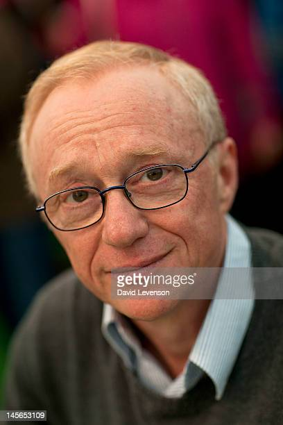 Israeli writer David Grossman attends the Hay Festival on June 3, 2012 in Hay-on-Wye, Wales.