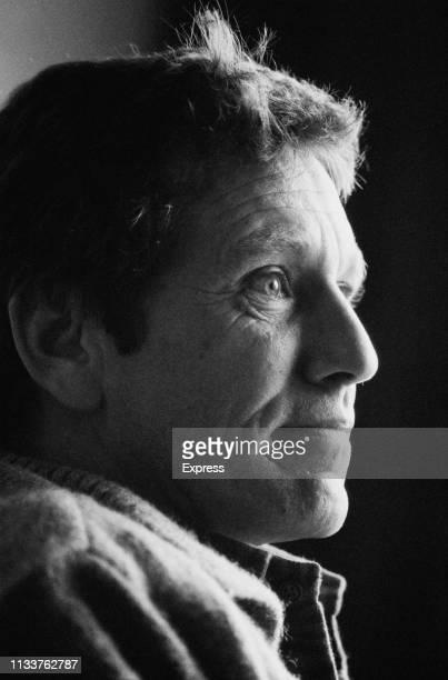 Israeli writer, novelist, journalist, and intellectual Amos Oz , UK, 7th November 1983.