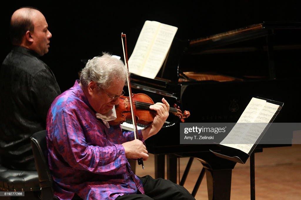 Itzhak Perlman 70th Birthday Concert At The Barbican Centre In London