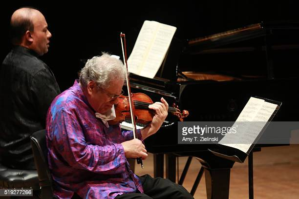 IsraeliAmerican virtuoso violinist Itzhak Perlman celebrates his 70th birthday with a concert featuring the touchstones of his repertoire by...
