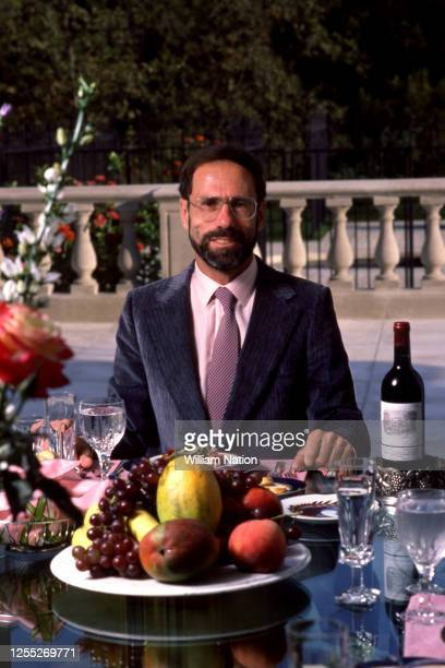 Israeli-born American technology entrepreneur, founder and Chief Executive of Monolithic Memories Ze'ev Drori poses for a portrait circa August, 1984...