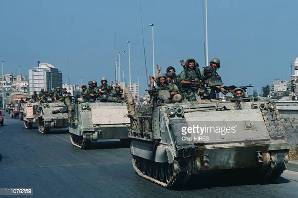 Israel's 1982 occupation of Beirut in Beirut Lebanon in September 1982
