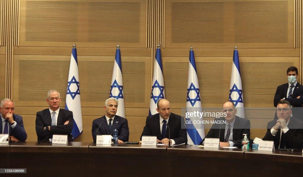 ISRAEL-POLITICS-GOVERNMENT : News Photo