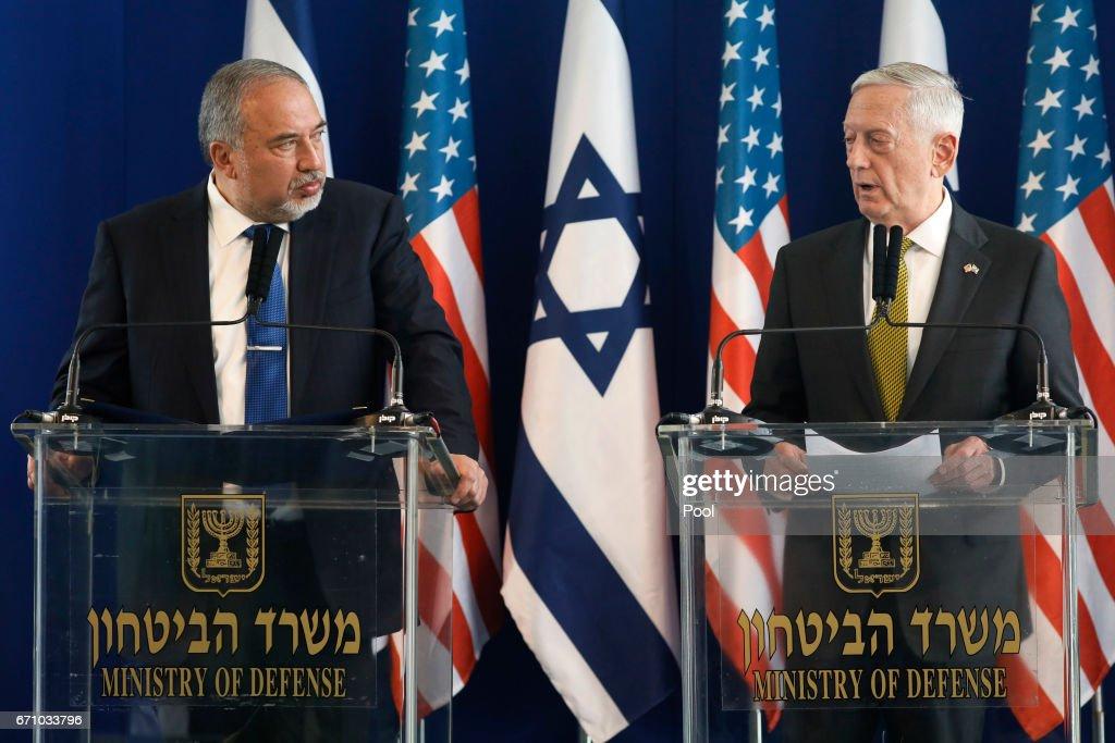 U.S. Defense Secretary James Mattis Visits Israel