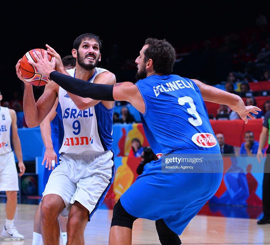 FIBA Eurobasket 2015: Israel vs Italy : News Photo