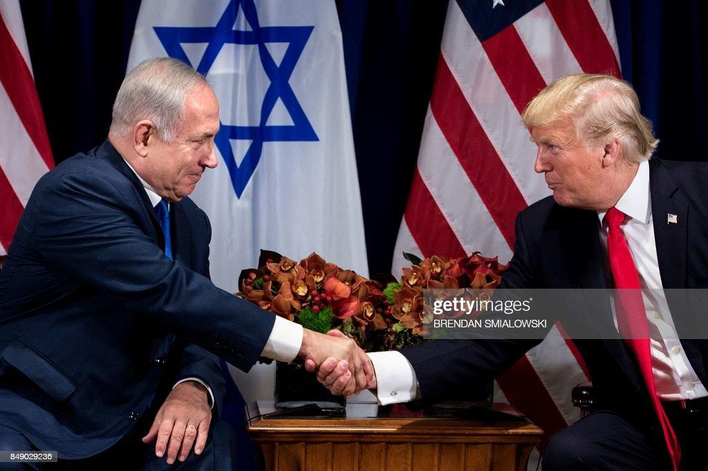 TOPSHOT-US-ISRAEL-DIPLOMACY : News Photo