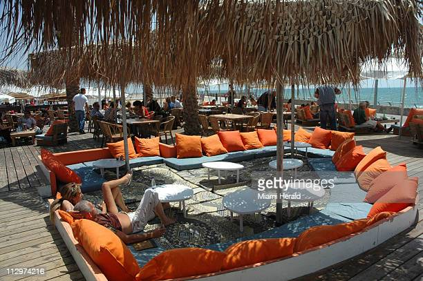 Israel's SeaBreeze spa bar, at the Port of Tel Aviv, offers meals, bar service and a spa in back. In recent years, the one-time working port has been...