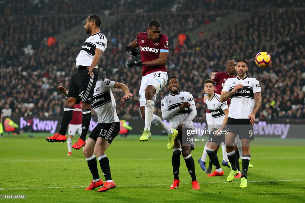 West Ham United v Fulham FC - Premier League : News Photo