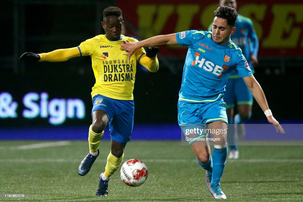 Issa Kallon Of Sc Cambuur Mohamed Betti Of Fc Volendam During The News Photo Getty Images