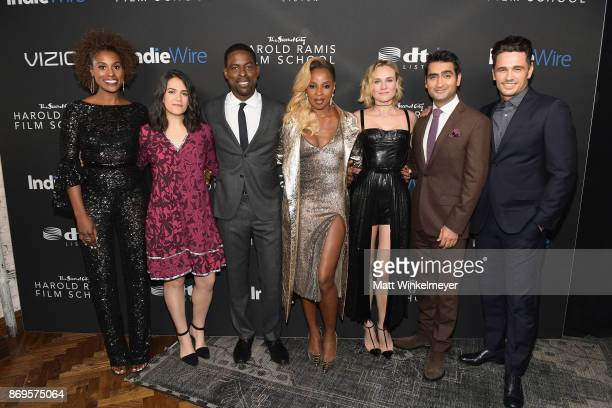 Issa Rae Abbi Jacobson Sterling K Brown Mary J Blige Diane Kruger Kumail Nanjiani and James Francoattend Inaugural IndieWire Honors on November 2...